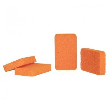 HiGloss Hygiene Silikonreinigungsschwämme, 4-teiliges Set orange