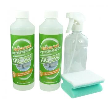 HiGloss Superkonzentrat 2 x 500ml incl. Leerflasche